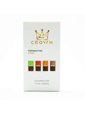CROWN Refillable Pods 4 Pack JUUL Compatible