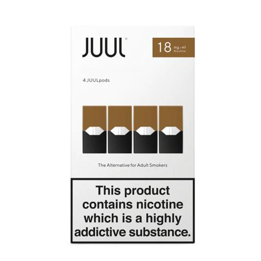 JUUL PODS RICH TOBACCO 8 BOXES