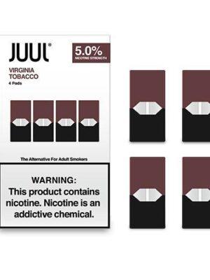 JUUL Pod Virginia Tobacco 4 Pod Pack