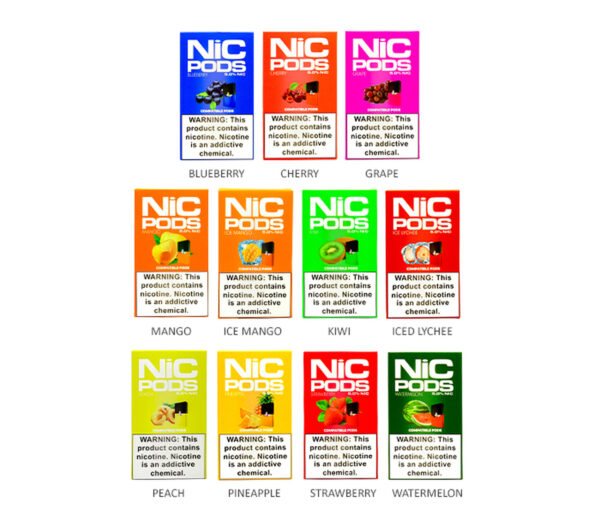 NiC Pods Pineapple JUUL Compatible