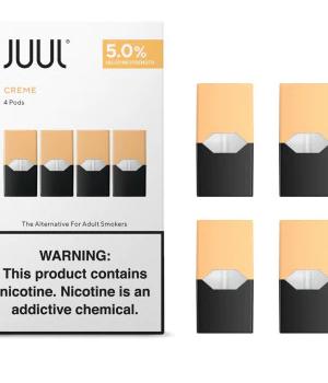 JUUL Pod Creme Brûlée 4 Pod Pack