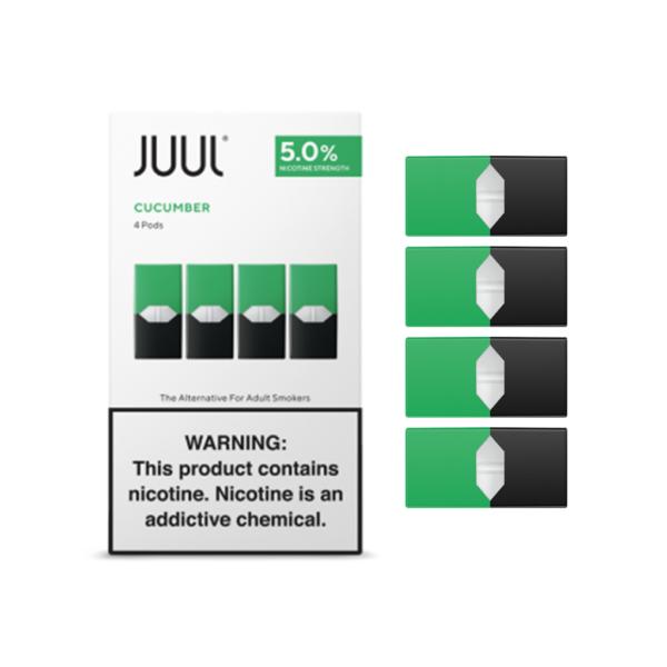 JUUL Pod Cucumber 4 Pod Pack