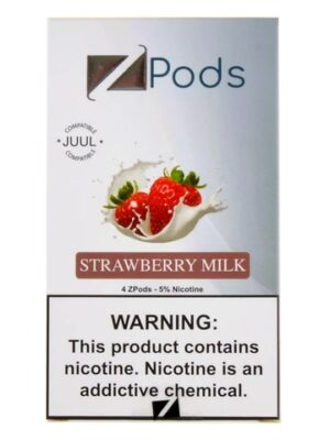 Ziip Strawberry Gum 4 Pods