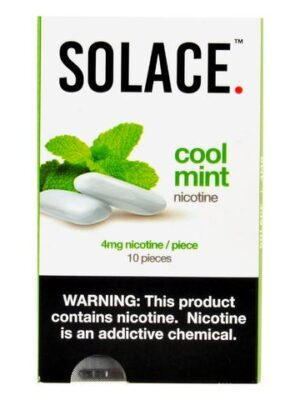 Solace Cool Mint Nicotine Gum